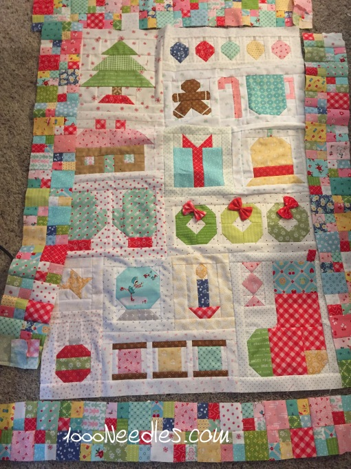 Have yourself a quilty little Christmas! 2/22/2017