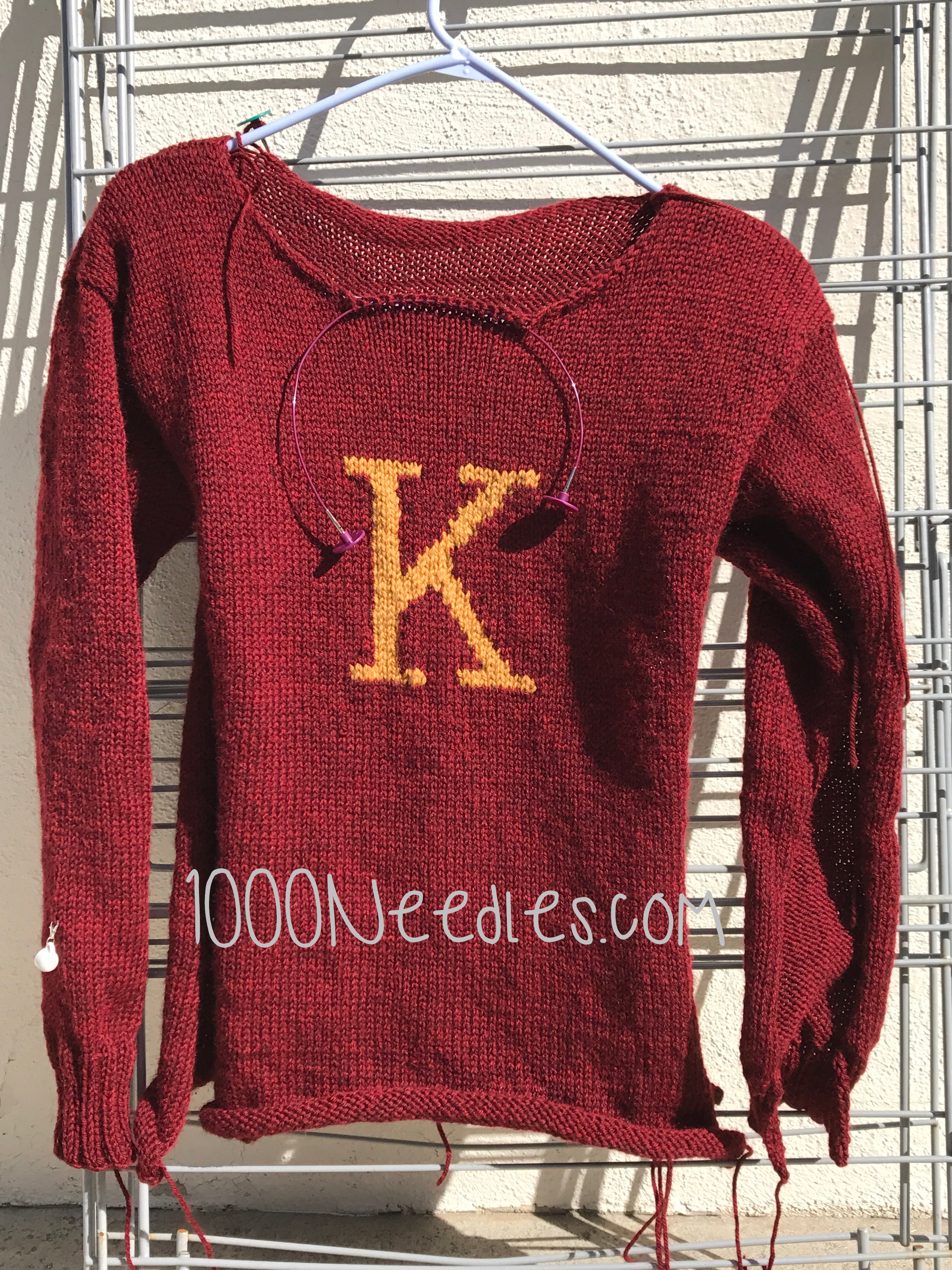 kayla\'s weasley sweater | Thousand Needles