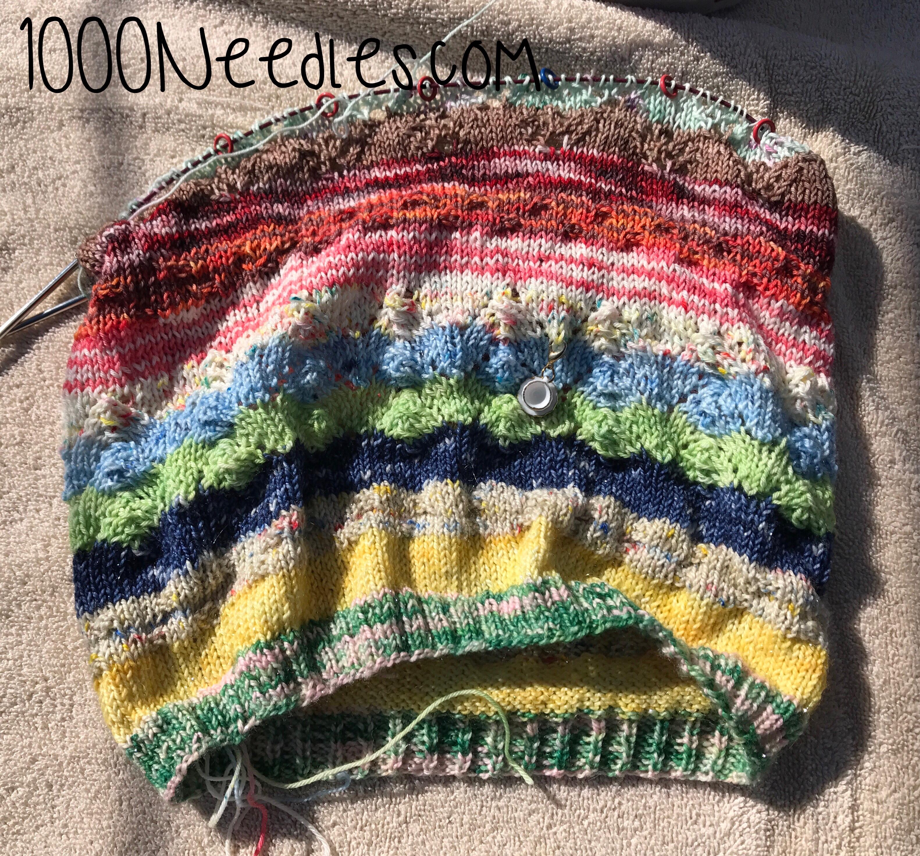 Knitting Expat Sock Club : Crafty plan march recap thousand needles